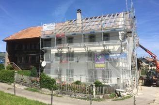 rénovation, isolation, platre, peinture, Fribourg, Gruyère